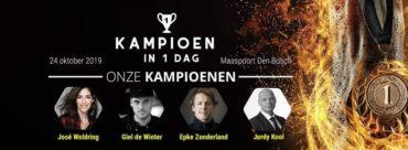Win tickets voor Kampioen in 1 dag