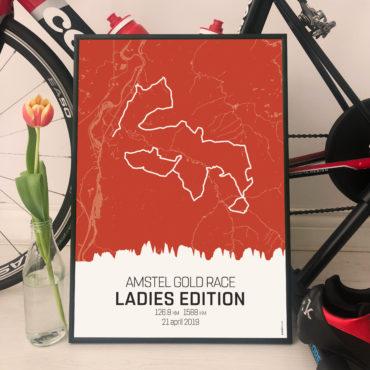 Vrouwen in Sport x Koersplaat