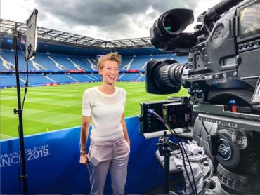 Sportjournalisten zonder sport: Rivkah op het Veld