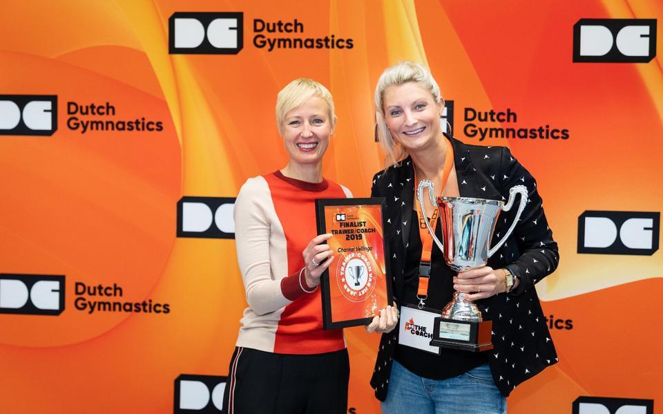 Chantal Vellinga door KNGU uitgeroepen tot trainer/coach van het ...